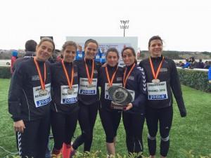 El Club Atletismo Clínica Dental Seoane-Pampín Subcampeón de España Cross Corto y Largo.