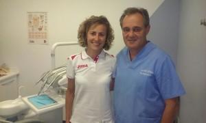 La Atleta Internacional Sonia Plaza en Nuestra Clínica Dental