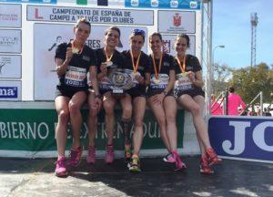 El Club Atletismo Clínica Dental Seoane-Pampín Campeón de España